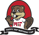 Happy 100th Birthday, Tim! logo